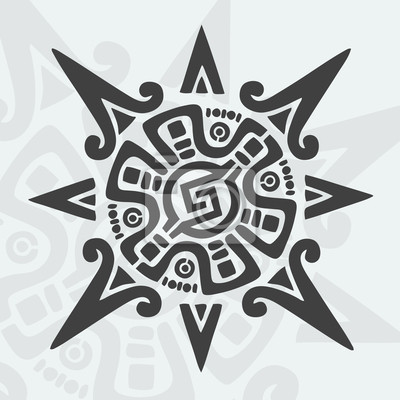 Symbol projektu Majów