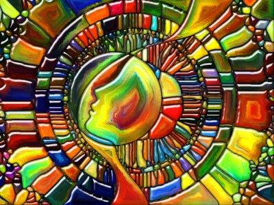 Naklejka Synergie fragmentacji