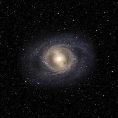 Naklejka System View Galaxy pojedyncze elementy tego zdjęcia dostarczone przez NASA
