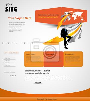 szablon strony internetowej