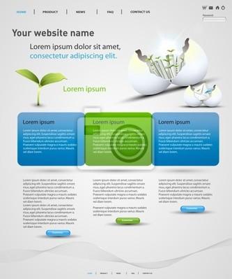 szablon web design