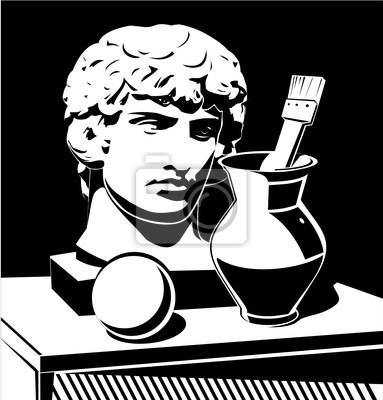 Szef Apollo, dzbanek i szczotki