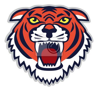Szef Mascot Tiger