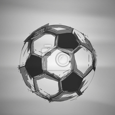 Szkic Soccer Wektor