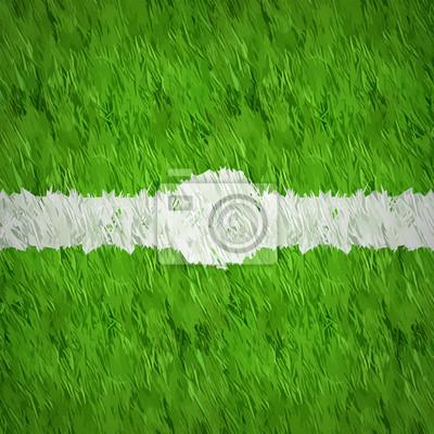 Sztuczna trawa w tle