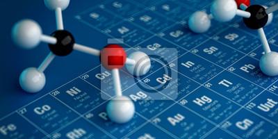 Tableau périodique des éléments et cząsteczek 2