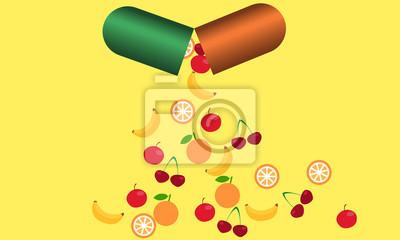 Tabletki z witaminami