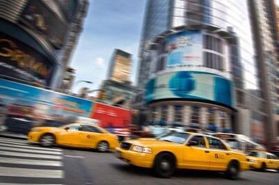 Naklejka Taksówki - New York, USA