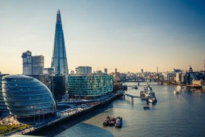Naklejka Tamizy i London City