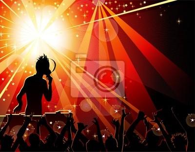 Taniec młodych ludzi w klubie nocnym