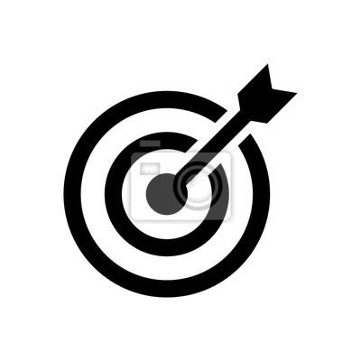 Naklejka target icon
