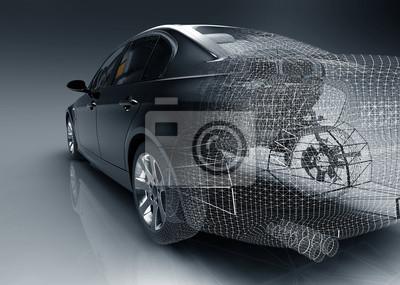 Tech projekt samochodu