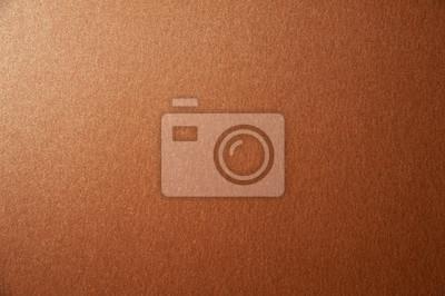 Naklejka Tekstura brązowy brown błyskotliwości papieru tło. Zdjęcie makro