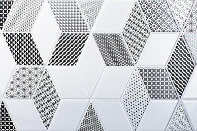 Naklejka Tekstura dachówki klasyczne, abstrakcyjny wzór