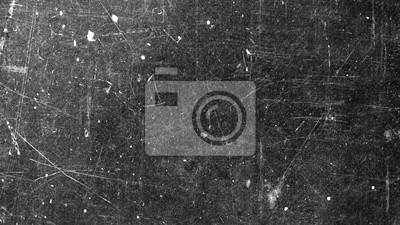 Naklejka Tekstura stara powierzchnia na czarnym tle z białymi narysami