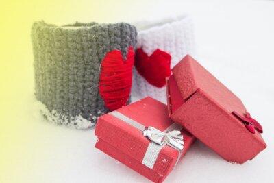 Temat miłości na Walentynki.