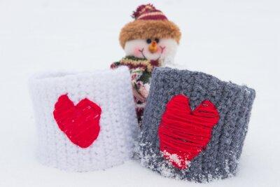 Temat miłości na Walentynki i Boże Narodzenie.