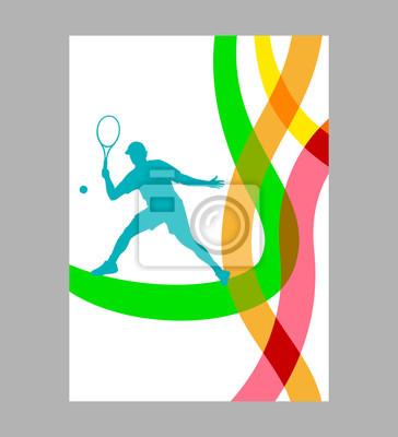 Tenis - 258 - plakat