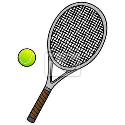 Tenis Ball i Racket