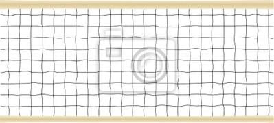 Naklejka Tenis czy siatkówka Vector netto
