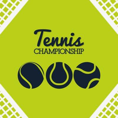 Naklejka Tenis Sport projektowania