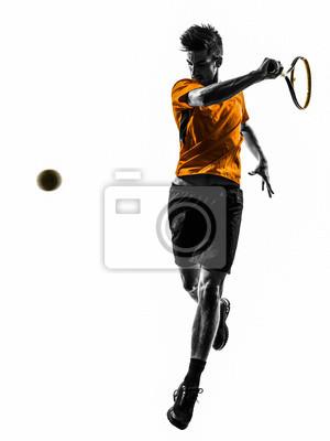 tennis player sylwetka człowieka