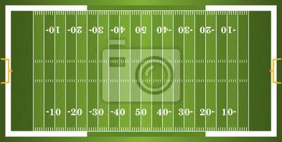 Textured Trawa American Football Field