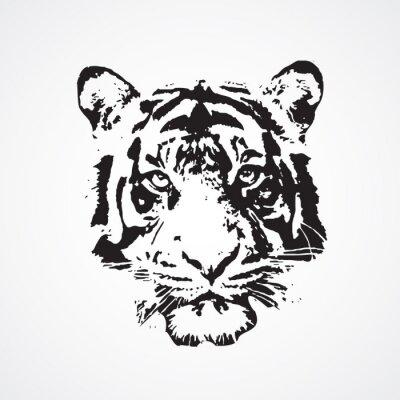 Naklejka tigre