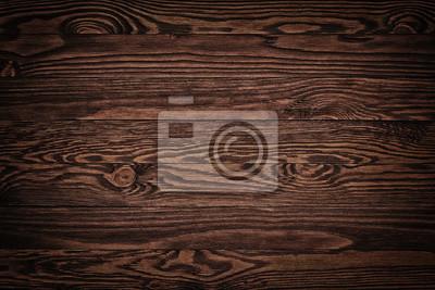 Naklejka Tło brązowe stare deski z drewna Ciemne wieku puste pusty pokój wiejski z drzewa wzór tekstury podłogi