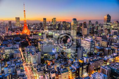 Naklejka Tokyo, Japan.
