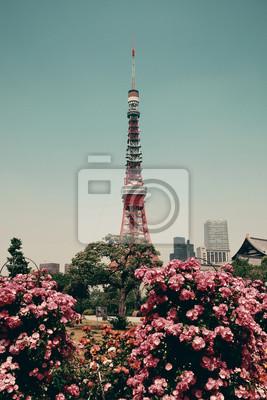 Naklejka Tokyo Tower
