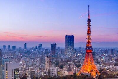 Naklejka Tokyo Tower, Tokio, Japonia