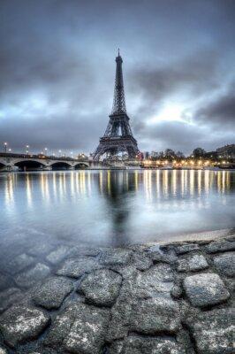 Naklejka Tour Eiffel - Paryż - Francja