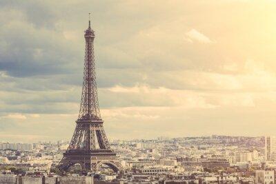 Naklejka Tour Eiffel w Paryżu