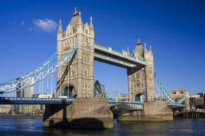 Naklejka Tower Bridge Południowy wschód view