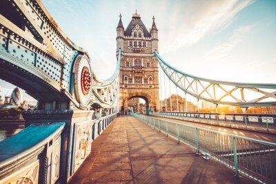 Naklejka Tower Bridge w Londynie