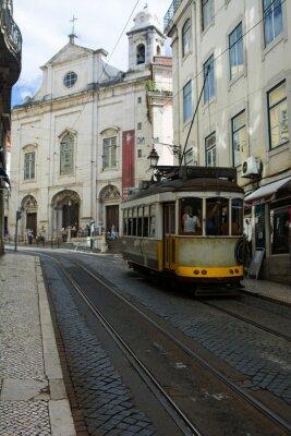 Naklejka Tramwaj - Lisbona