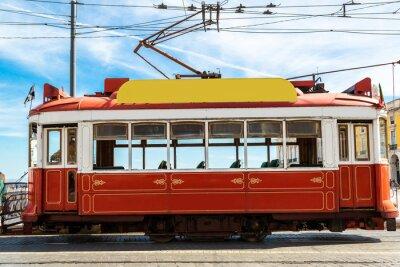 Naklejka Tramwaj w Lizbonie