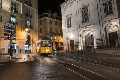 Naklejka Tramwaje Lisbonne Portugalia