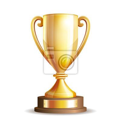 Naklejka Trofeum Złoty Puchar