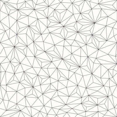 Naklejka Trójkąty w tle, bez szwu wzór, projektowanie linii