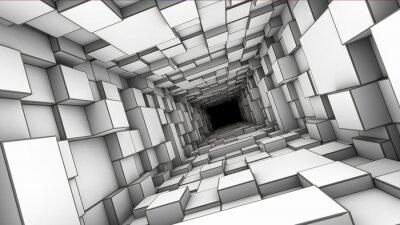Naklejka tunel