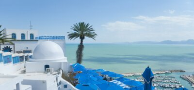 Naklejka Tunis, Tunezja