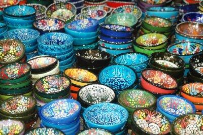 Turkish ceramics, porcelain dishes, Traditional Turkish dishes