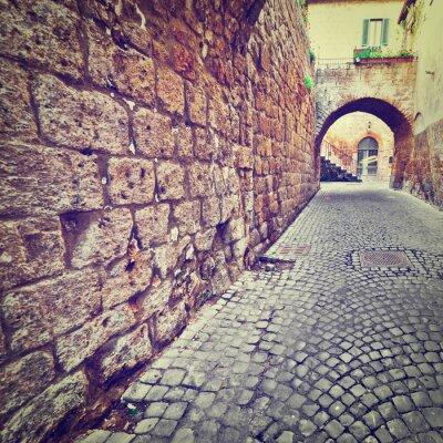 Naklejka Ulica
