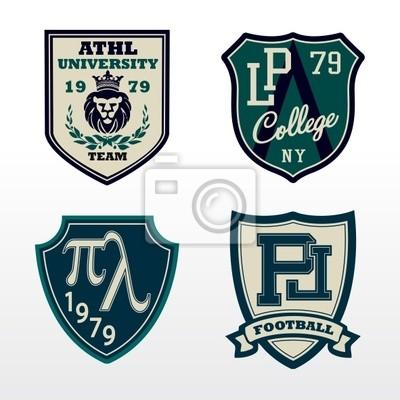 University Athletic Crest łatka