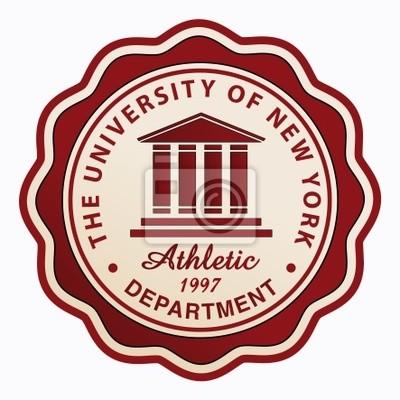 University Athletic patch