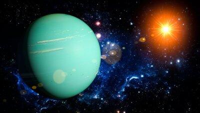 Naklejka Uran