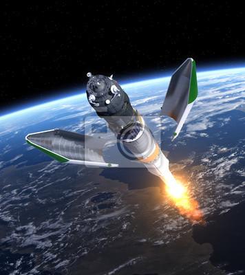 """Uruchomienie ładunku statku kosmicznego """"Progress"""""""