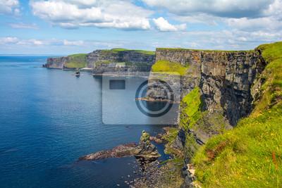Naklejka Urwiska Moher w Irlandii